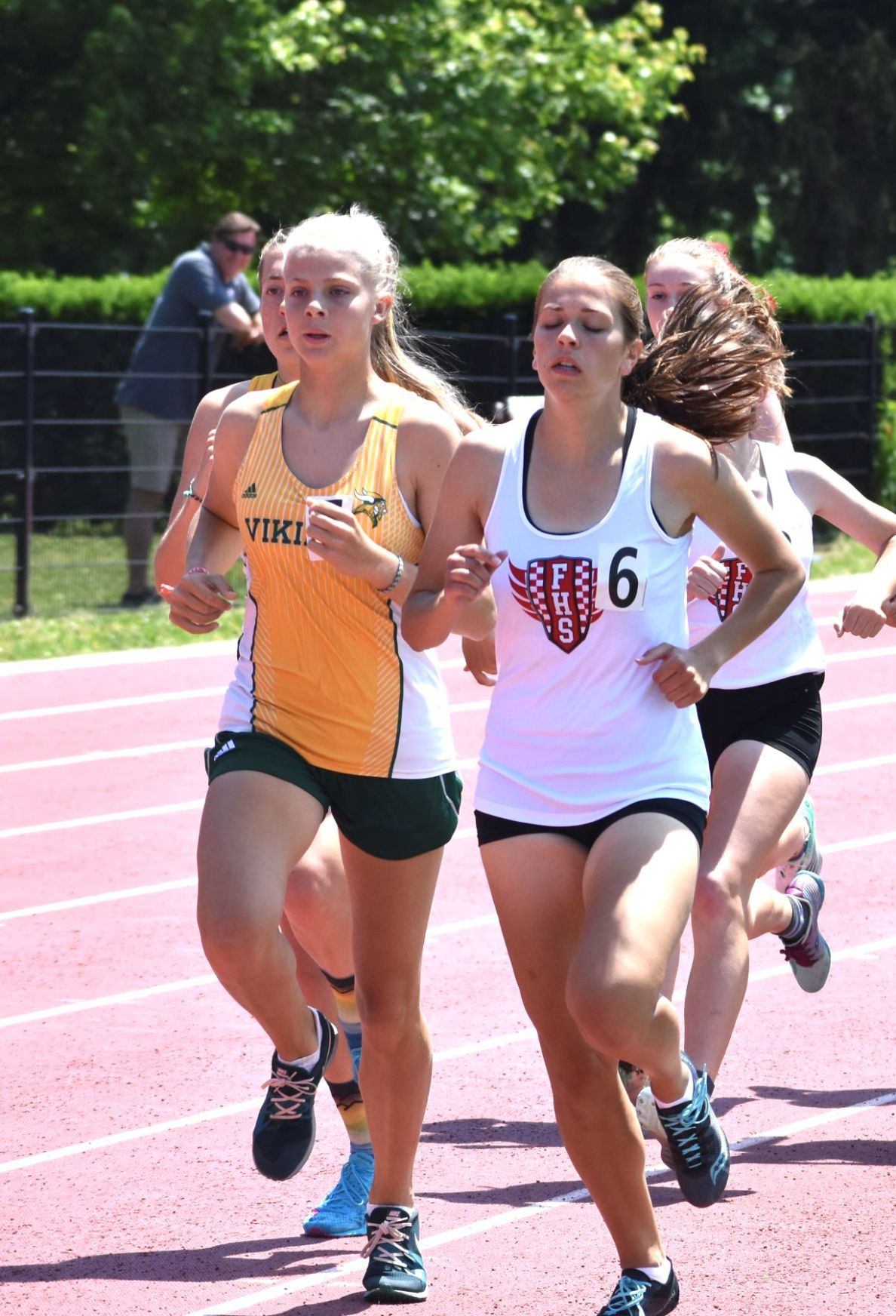 LVHS girls regional track