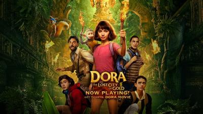 'Dora and the Lost City of Gold' poster