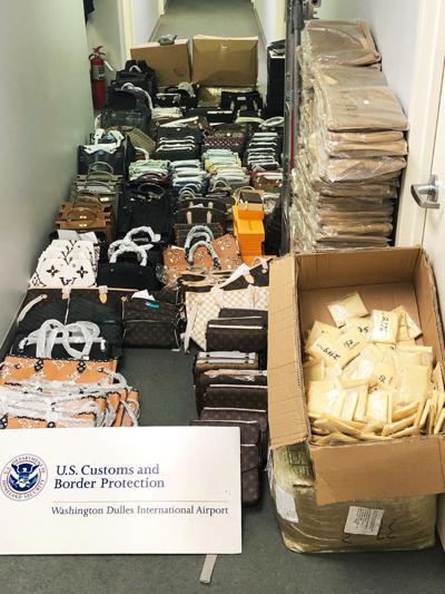Dulles CBP purses seizure