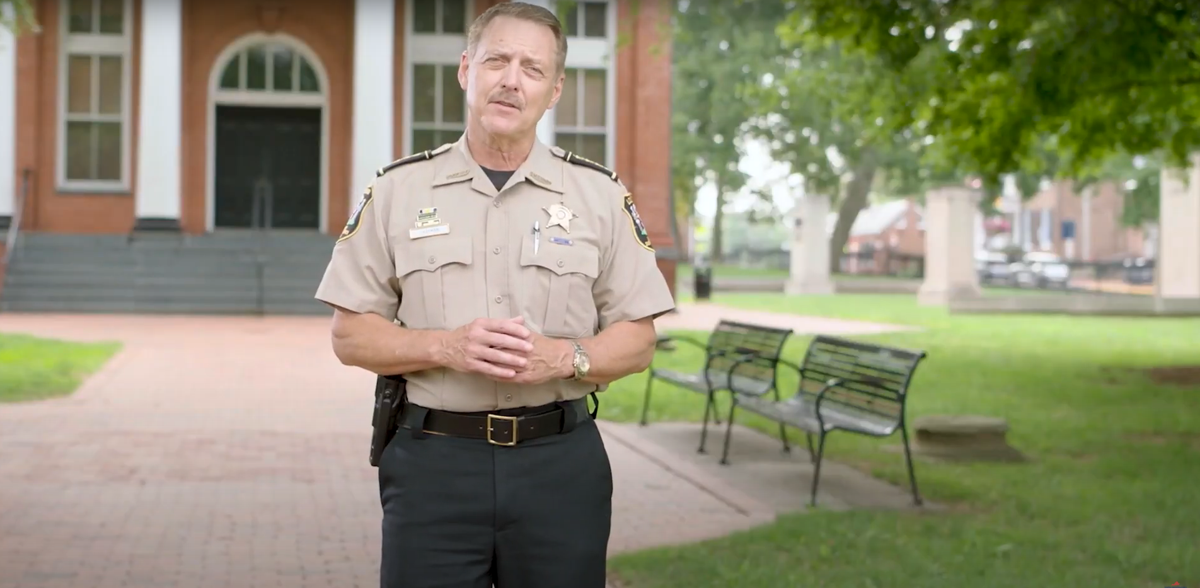 Youngkin Campaign | Sheriff Mike Chapman 2
