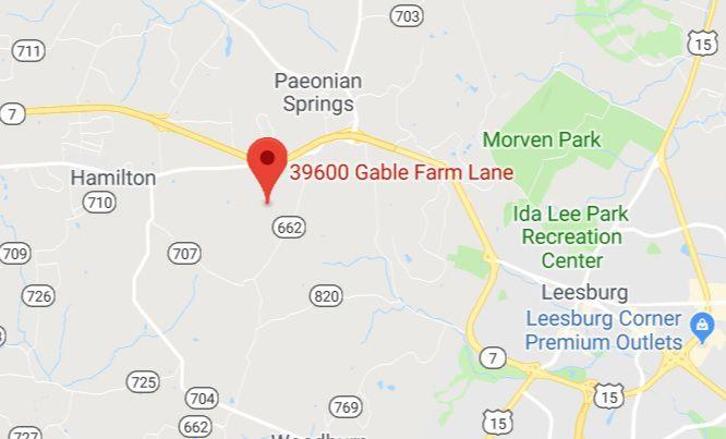 Gable Farm Map