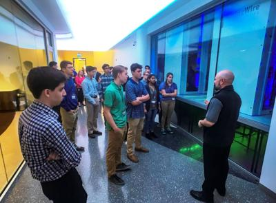 LCPS students tour RagingWire