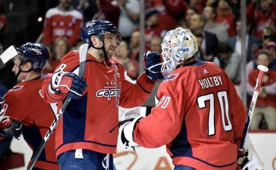 Capitals clinch division
