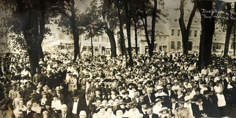 World War I memorial | July 8, 1922