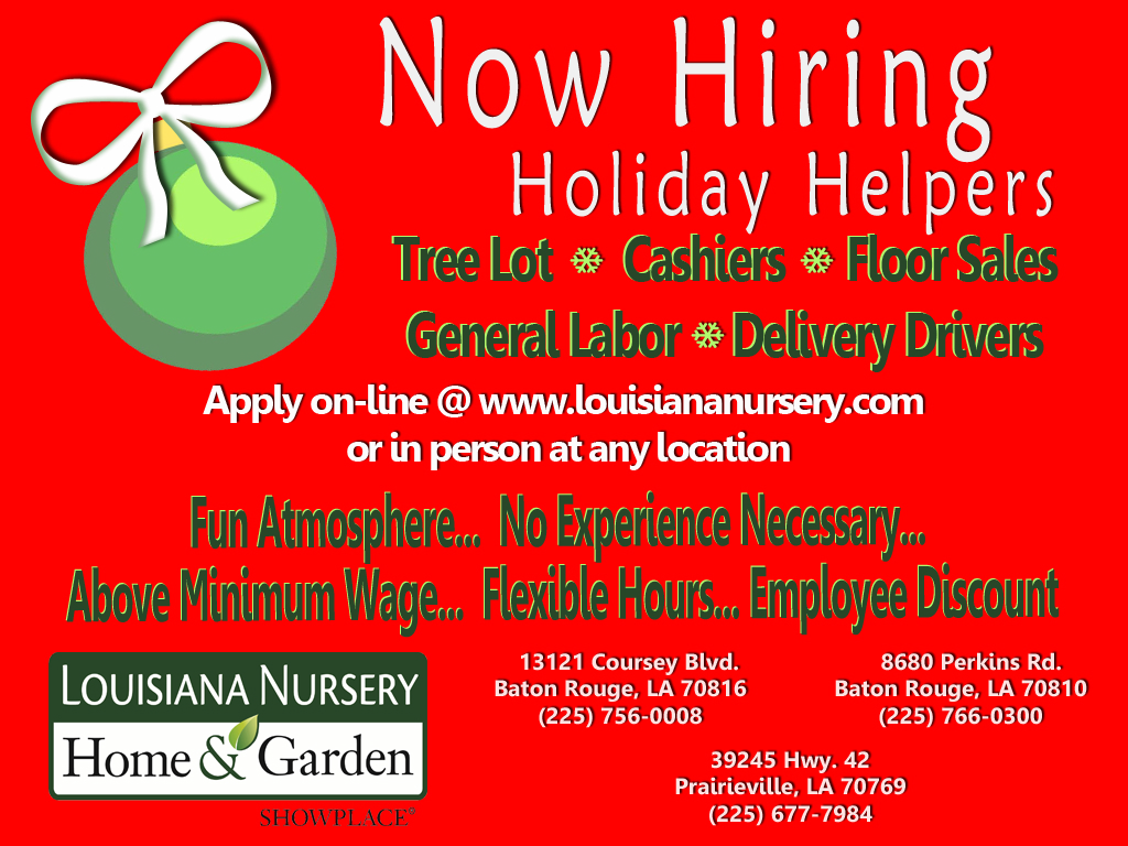 Holiday Helpers Needed! image 1