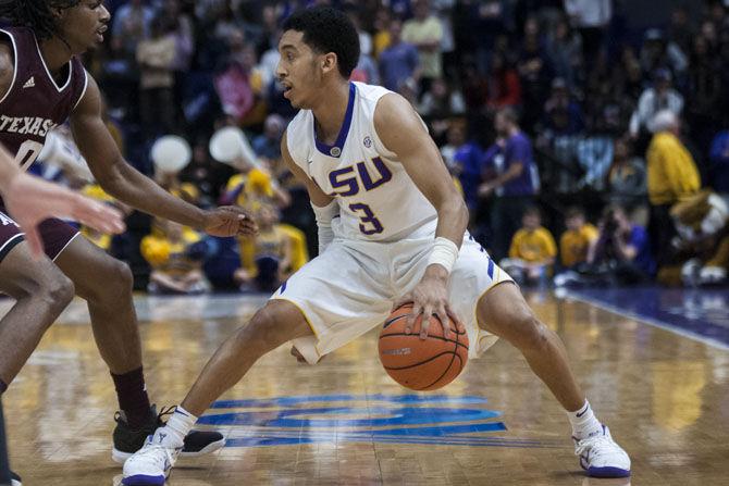 1.23.2018 LSU vs Texas A&M Men's Basketball