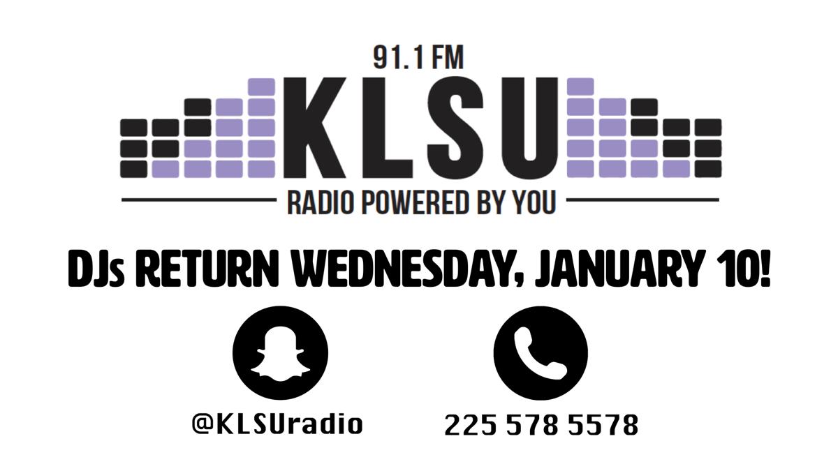 KLSU DJs Are Back!