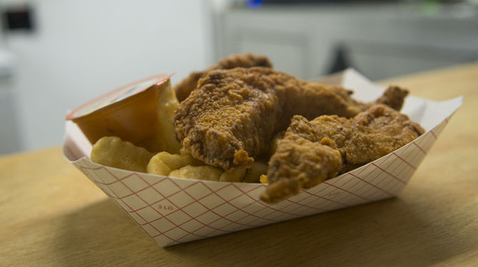 Tigerland Food Truck Sells Chicken Tenders Boudin Balls The Daily