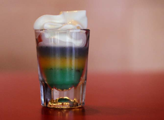 King cake shots a popular choice Entertainment lsunowcom