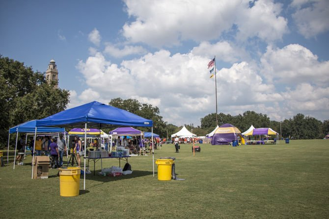 LSU to introduce new tailgating policies for student organizations before Troy game Sept. 30 & LSU to introduce new tailgating policies for student organizations ...