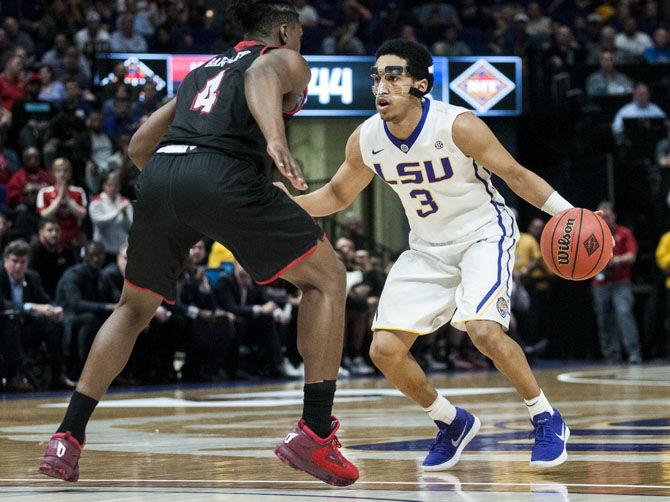 3.14.2018 LSU Men's Basketball NIT vs ULL