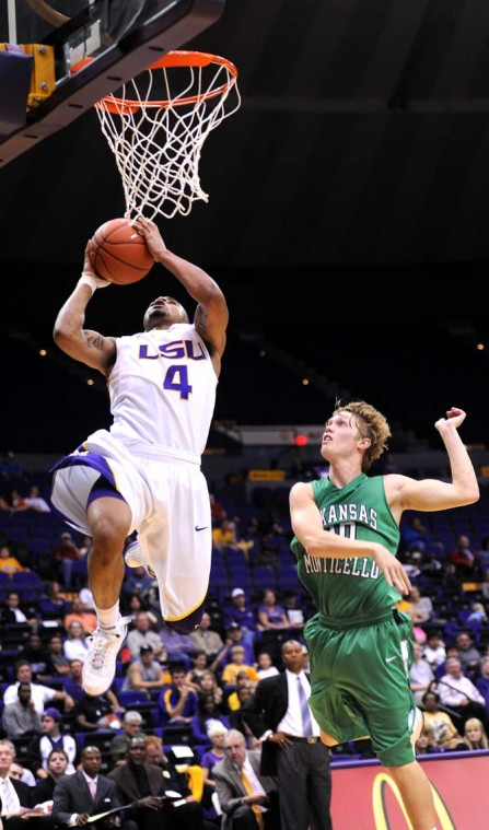 Basketball, LSU vs. Arkansas-Monticello November 5, 2012 ...