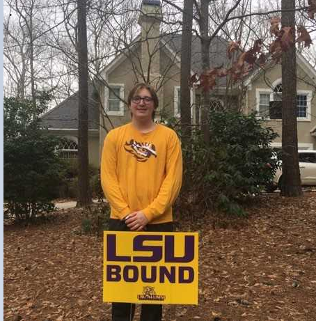 Max loved LSU and could not wait to get on campus