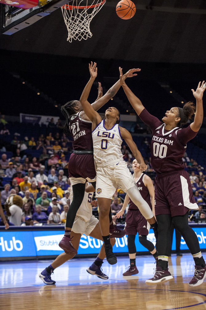 2-11-18 LSU Women's Basketball vs. Texas A&M