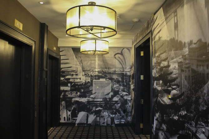 Historic Bank Converted To Luxury Hotel In Downtown Baton Rouge