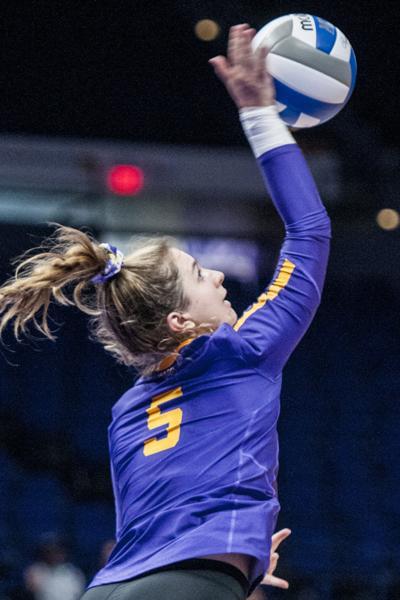 8-31-18 Volleyball vs. Duke