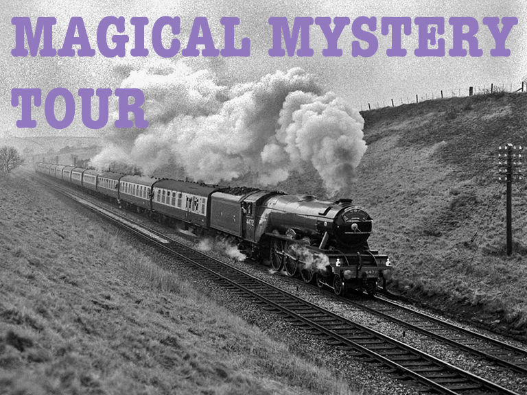 Summer 2017 Magical Mystery Tour Schedule