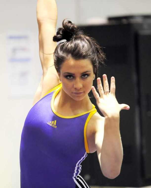 Rheagan Courville quietly leads the way for LSU | Sports ...