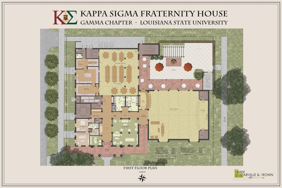 Kappa Sigma begins construction on new house   The Daily Reveille ...