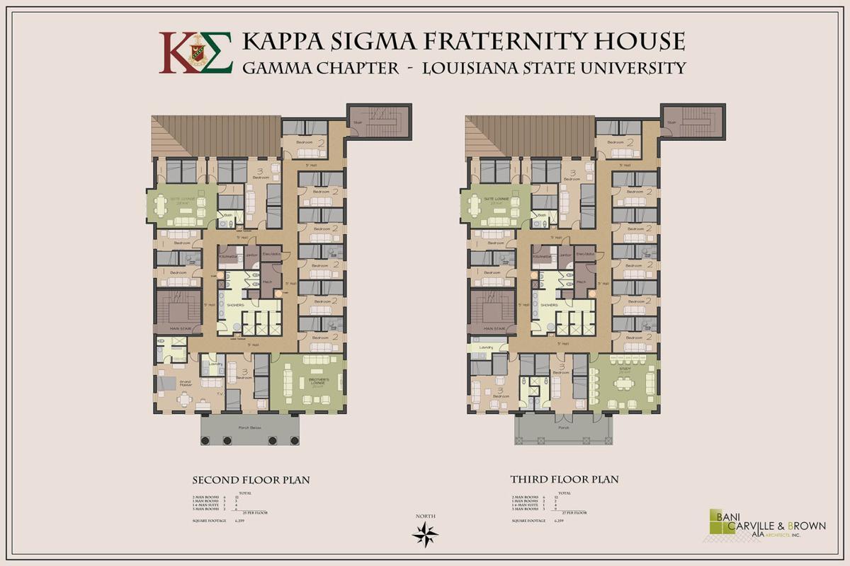 Fraternity House Floor Plans - House Plans