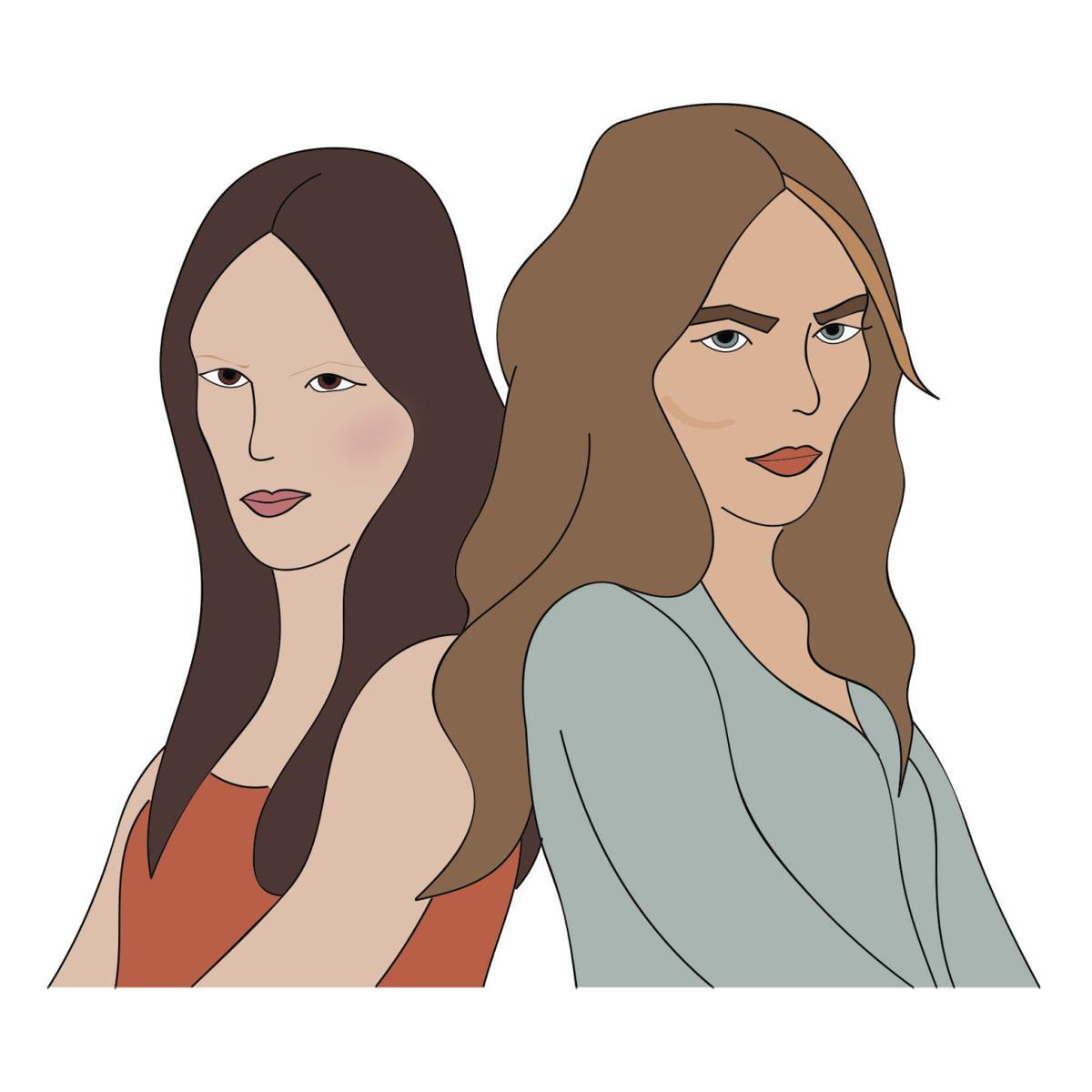 Cartoon: eyebrows