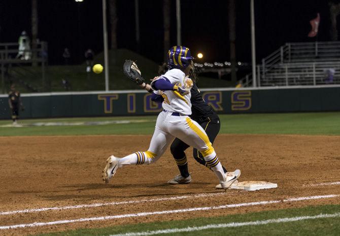PHOTOS: LSU Softball Victory Vs. University of Southern Mississippi