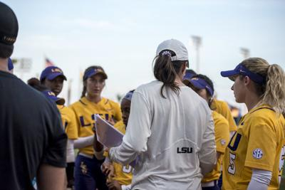 4.24.18 LSU Softball Vs South Alabama