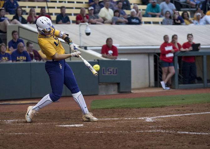 4.24.18 LSU Softball Vs South Alabama