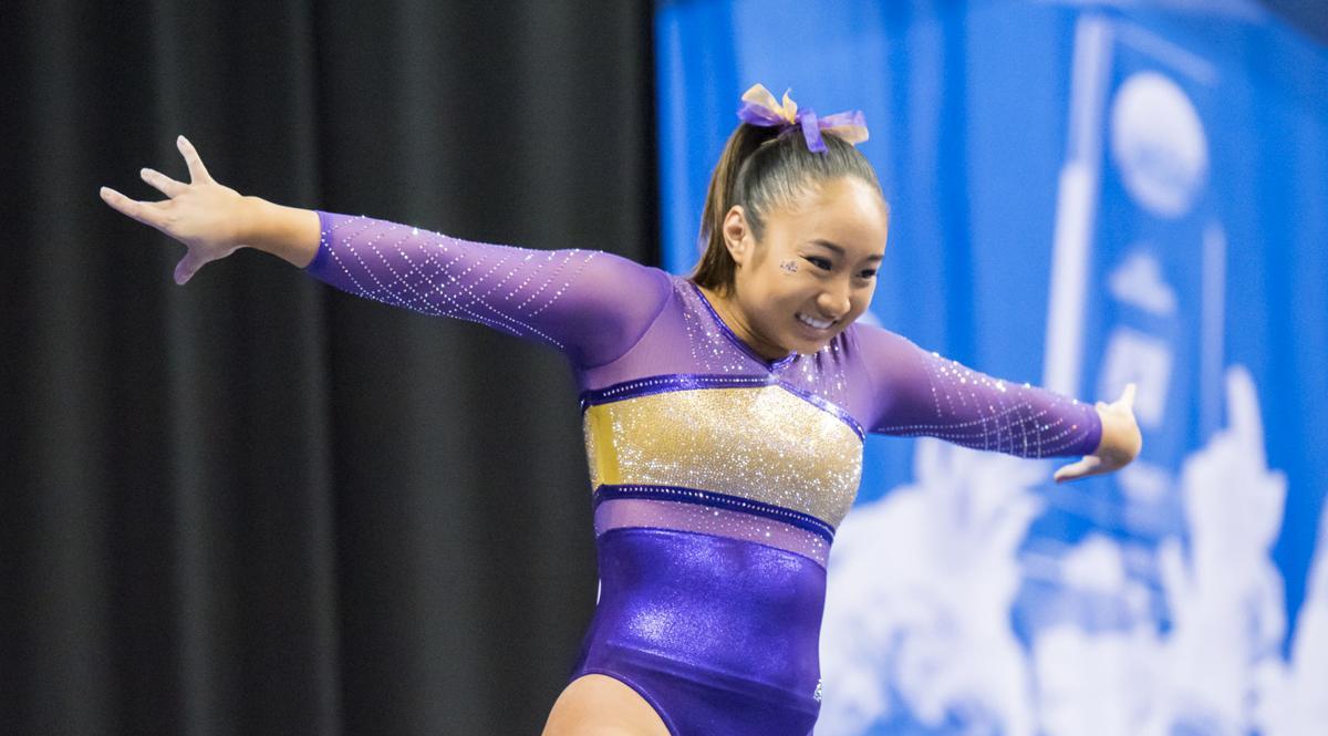 PHOTOS: LSU Gymnastics Semifinals