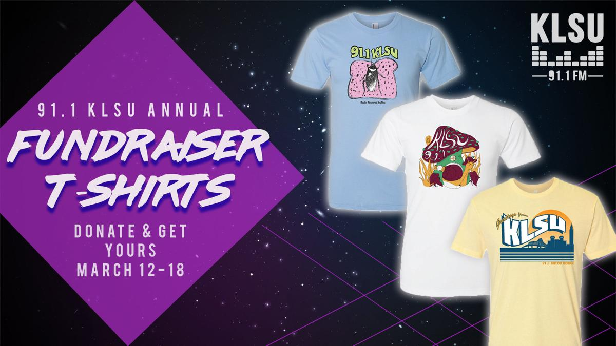 KLSU Fundraiser T-Shirts