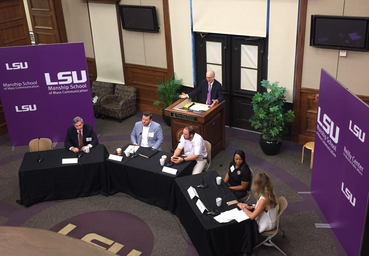 former baton rouge affiliated panelists talk career aspirations christian boutwell