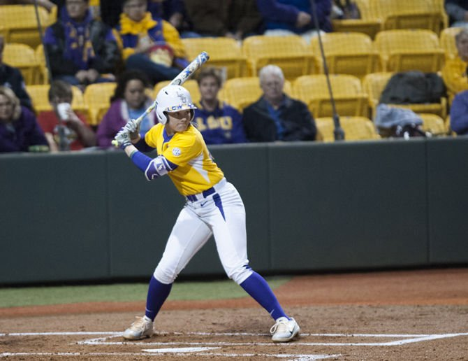 2-8-2018 LSU Softball v Illinois-Chicago