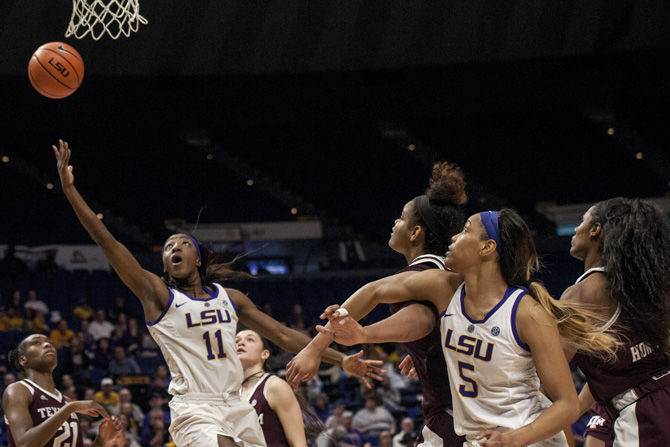 PHOTOS: LSU Women's Basketball Defeats Texas A&M 80-78