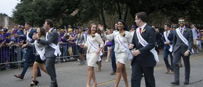 PHOTOS: LSU marches Victory Hill before game against Mississippi State