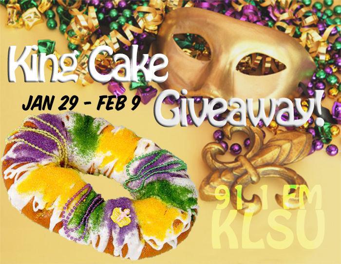 King Cake Giveaway