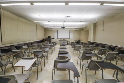 3.1.18 Empty Classroom