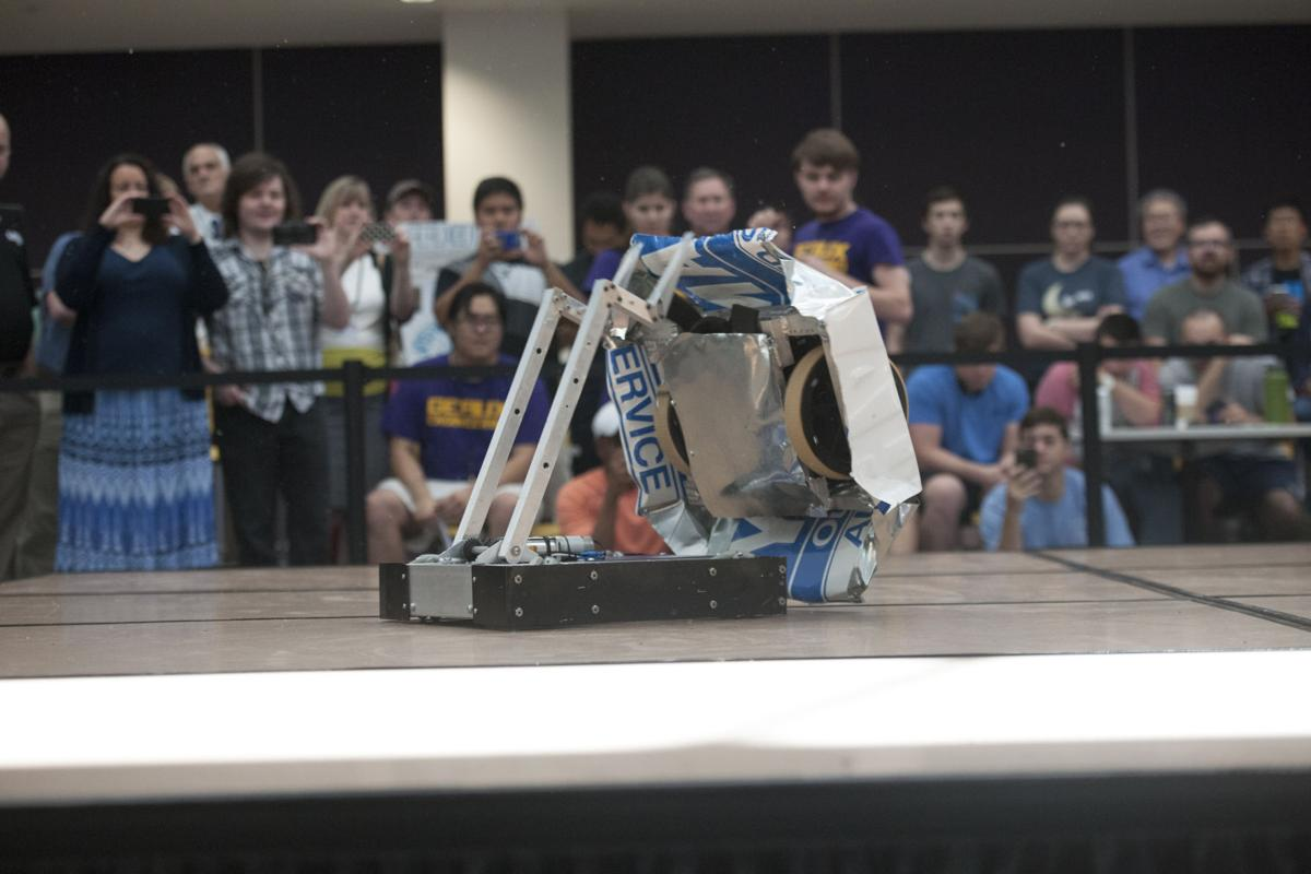 Lsu Hosts First Annual Combat Robotics Competition The