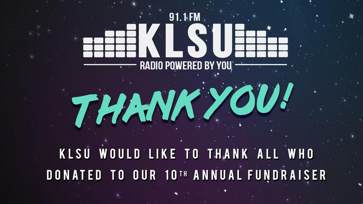 KLSU Thanks You