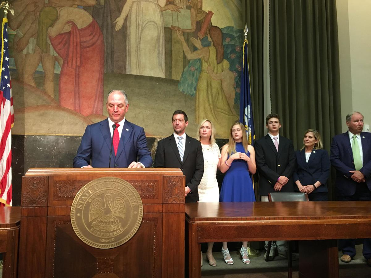 Gov JBE signs Max Gruver Act