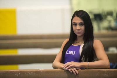 LSU gymnast Courville takes Tigers to new heights ...