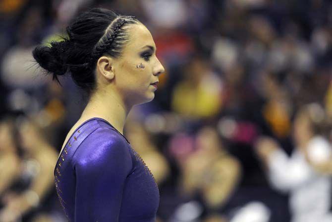 LSU all-arounder Rheagan Courville earns SEC Gymnast of ...
