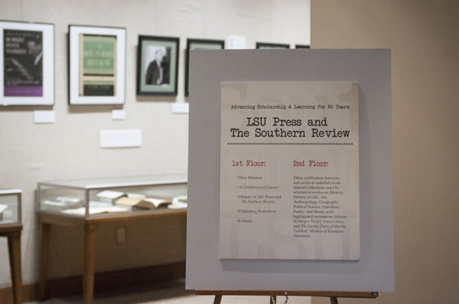 10/19/15 LSU Press Exhibit