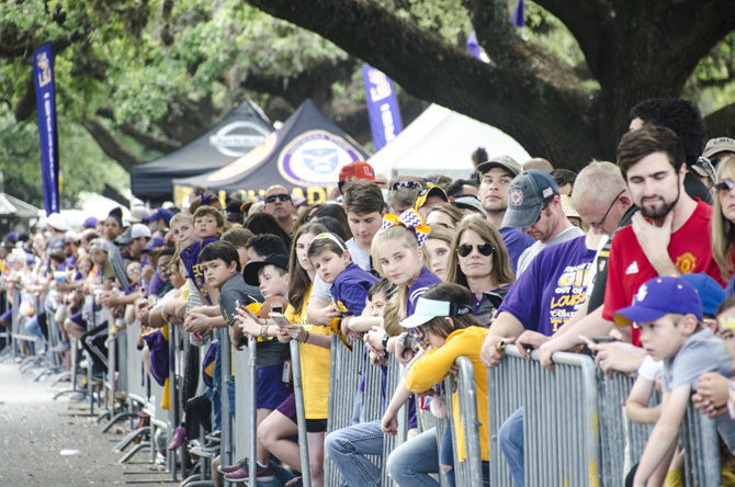 PHOTOS: LSU Spring Football Parade