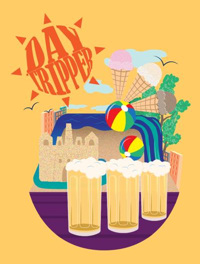 Day tripper illustration