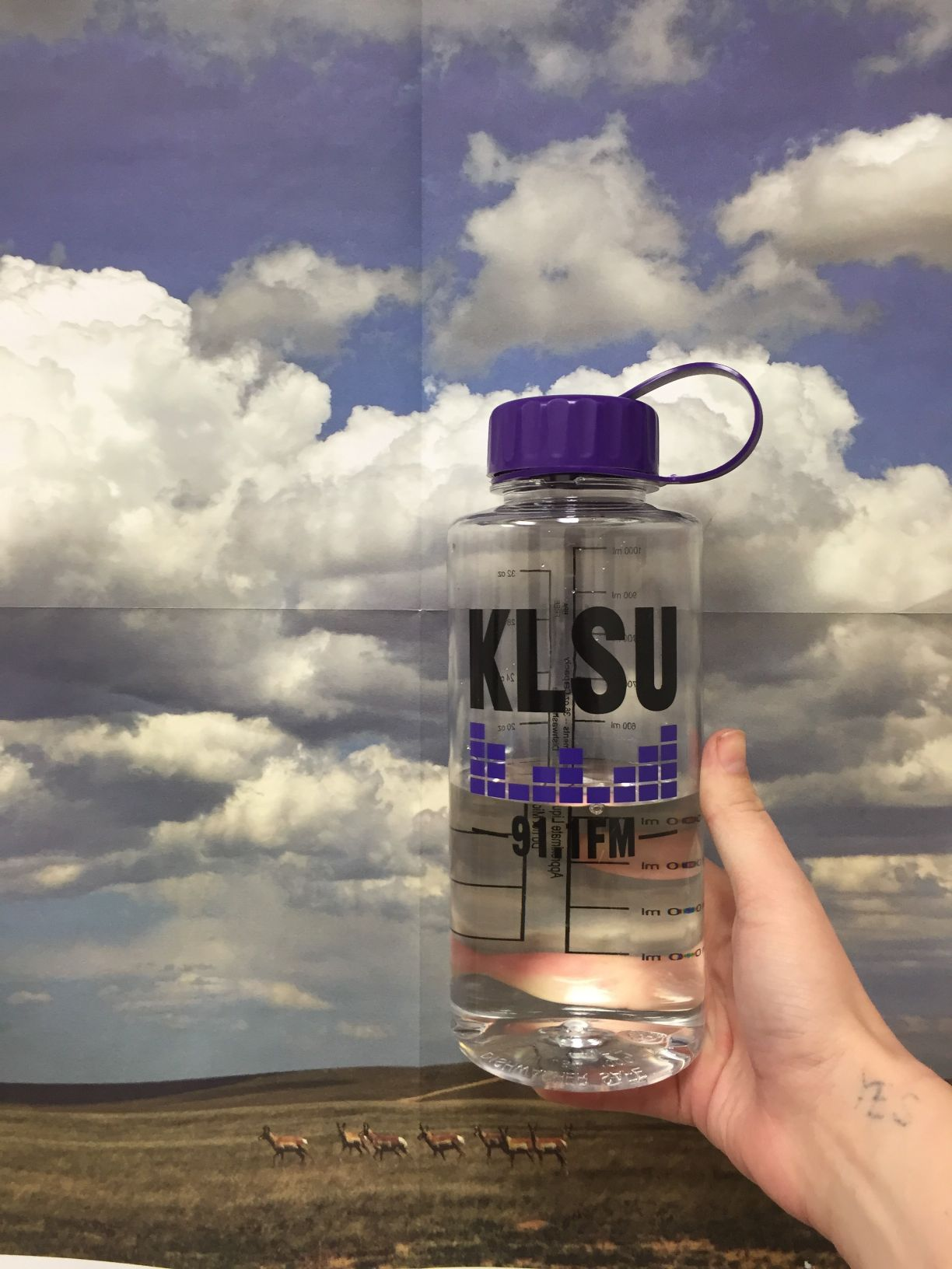 KLSU Water Bottle