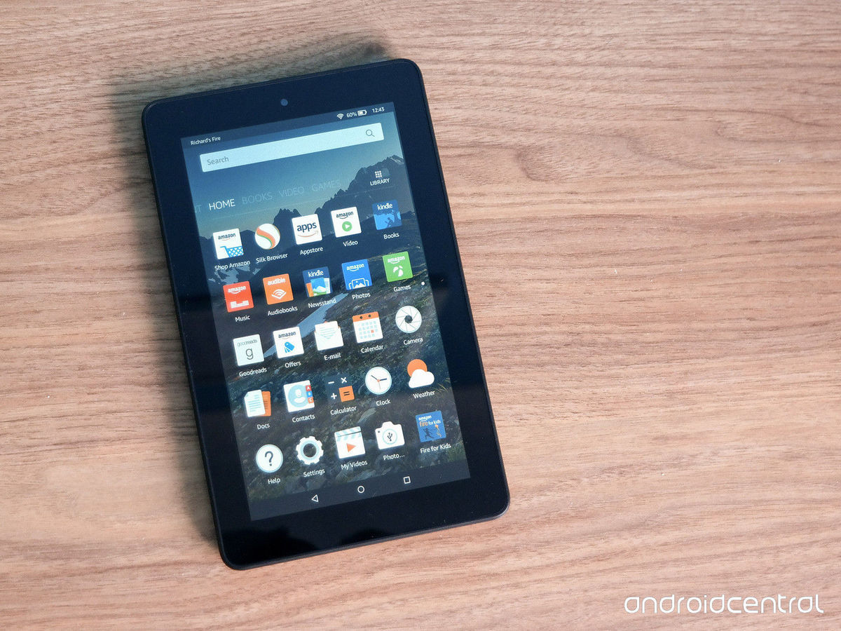 Fire Amazon Tablet