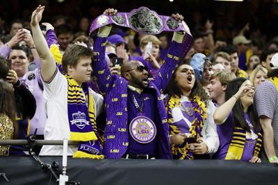 CFP Championship Clemson LSU Football