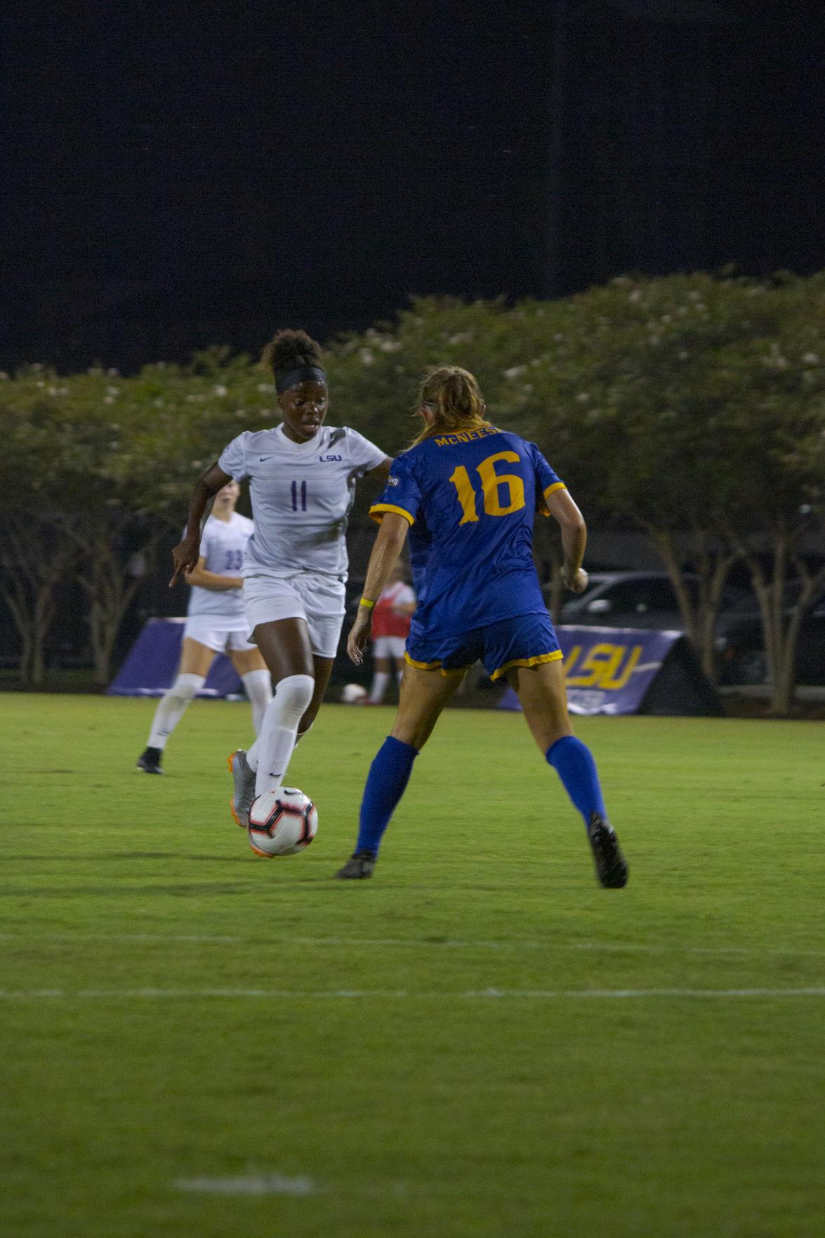 LSU vs. McNeese Womens' Soccer