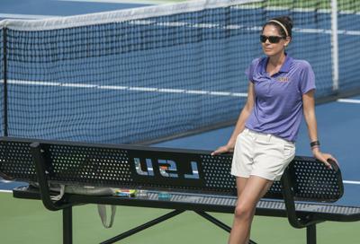 04/21/16 LSU Women's Tennis vs. Kentucky