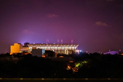 PHOTOS: LSU at night